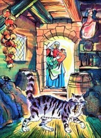 Кот в амбаре