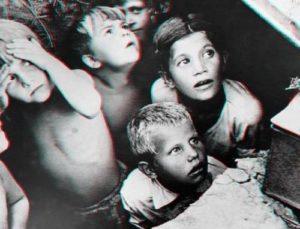 Седые дети на войне