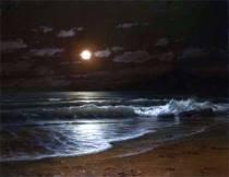 Вечер лунный